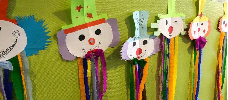 Deutsche Schule Toulouse: Karneval Kostüme Fotograf: Sophie Causyn
