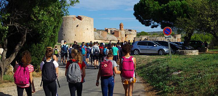 Deutsche Schule Toulouse: 2-tägiger Jahresausflug der weiterführenden Schule