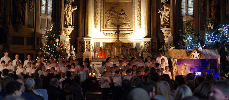 Weihnachtskonzert 2019 der DST in der Kirche Sainte-Marie-Madeleine in Pibrac: Chor