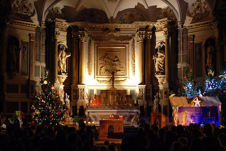 Weihnachtskonzert 2019 der DST in der Kirche Sainte-Marie-Madeleine in Pibrac: Illumination