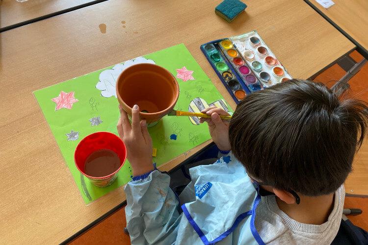Deutsche Schule Toulouse: Osteraktionen Fotograf: Christina Claßen