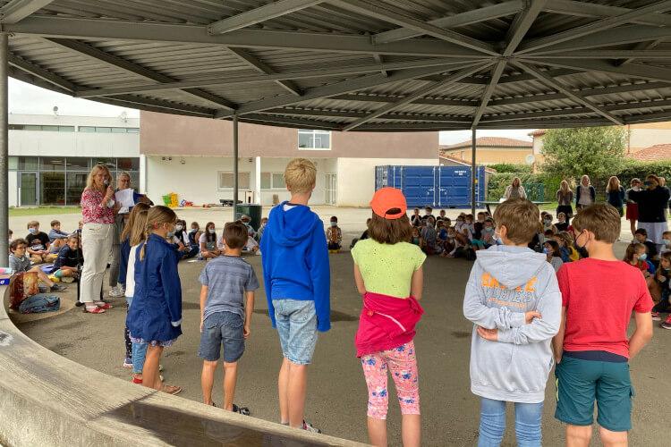 Deutsche Schule Toulouse: letzter Schultag, Beitragsbild