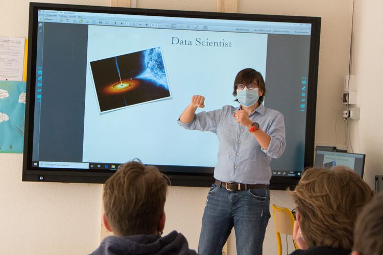Deutsche Schule Toulouse, Berufsberatung Datascientist Fotograf: Nicole Knüppel