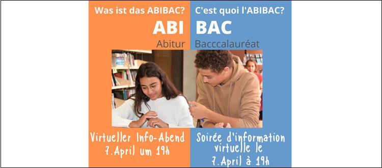 Deutsche Schule Toulouse, Einladug zur Abibac-Veranstaltung