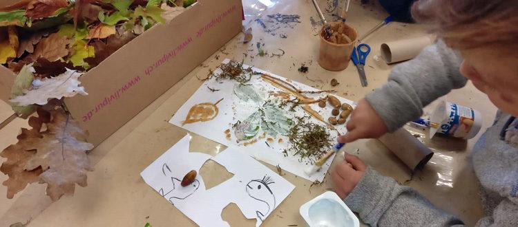 Deutsche Schule Toulouse: Herbstbasteln 2020 Kindergarten