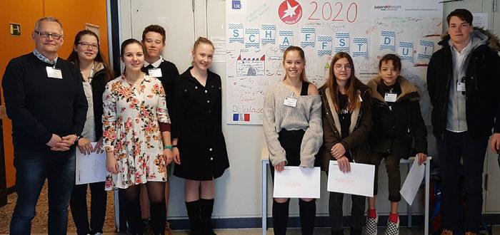 DST Jugend forscht 2020 Gruppenbild