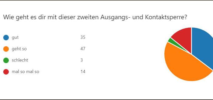 Deutsche Schule Toulouse, Umfrage: Hallo, wie geht es euch?