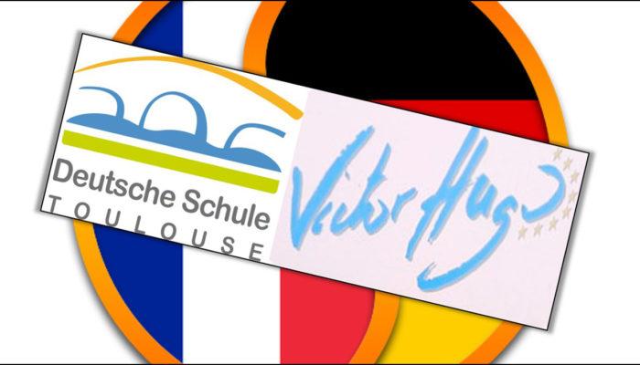 Deutsch-Französische Flagge - Deutsche Schule Toulouse und Lycée Victor Hugo