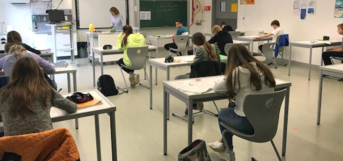 Deutsche Schule Toulouse, Klassenraum Weiterfuehrende Schule