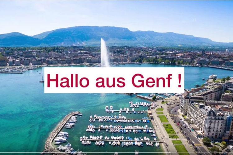Deutsche Schule Toulouse, Virtuelle Weltreise 2020 Genf