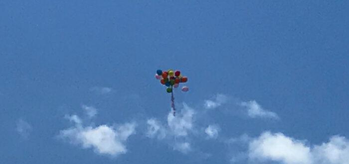 eutsche Schule Toulouse: Abschluss 2020 Luftballons Fotograf: Christina Claßen