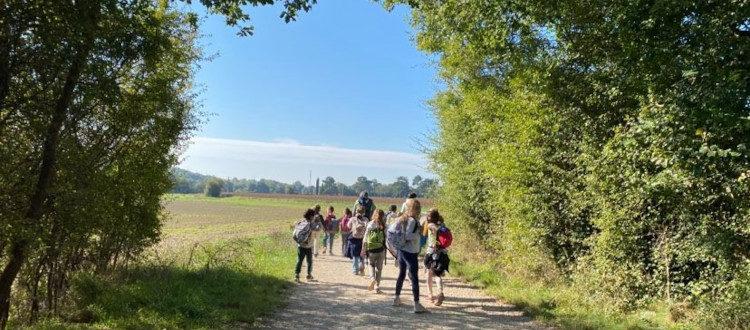 Deutsche Schule Toulouse: Wandertag Klasse 2, Titelbild