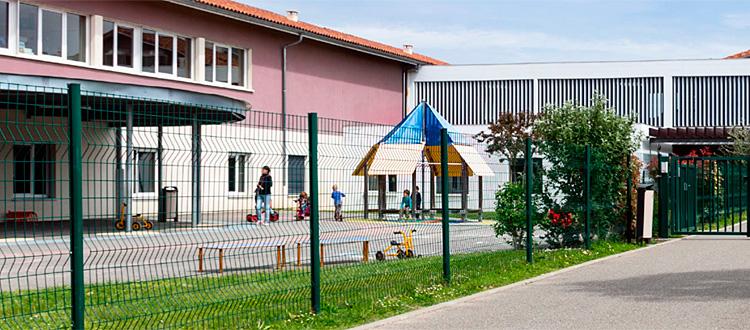 Eurocampus, Allée de l'Herbaudière. Colomiers: Standort des Kindergartens und der Grundschule