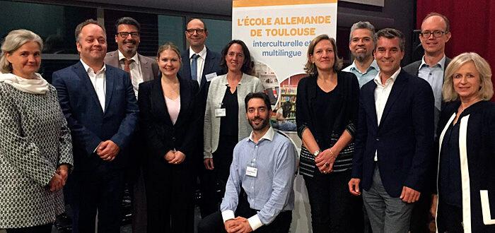 Deutscher Schulverein Toulouse: Vorstand 2019 - Gruppenbild