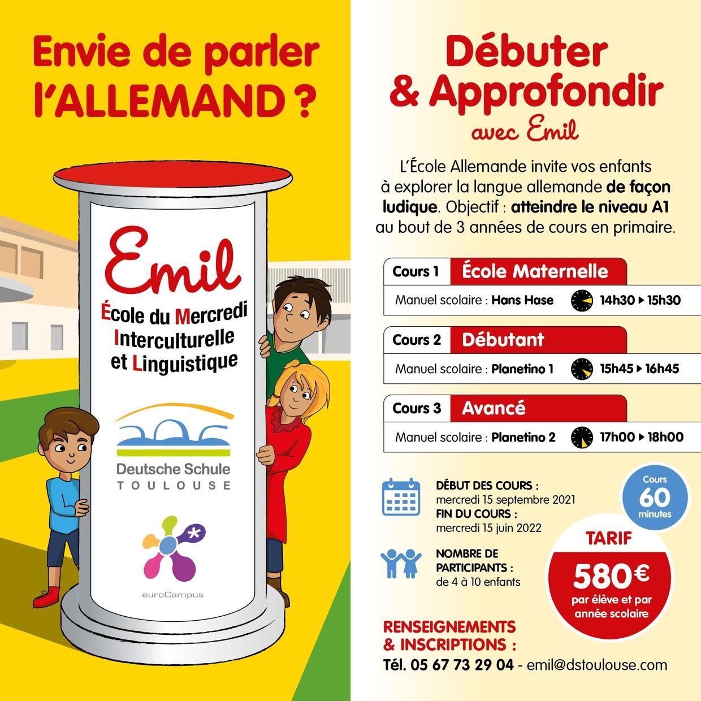 Deutsche Schule Toulouse, Sprachenschule EMIL