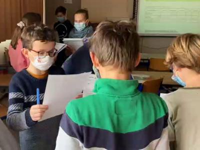 Deutsche Schule Toulouse, Schulklasse, Englischunterricht