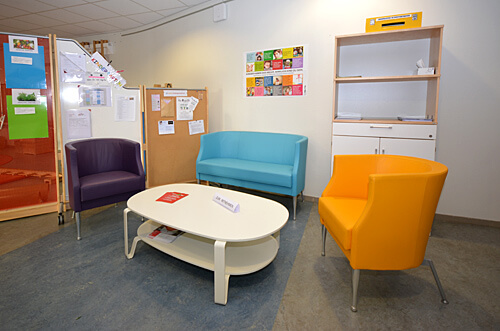 Deutsche Schule Toulouse | Kindergarten: Räume und Ausstattung. Fotografin: Nicole Knüppel