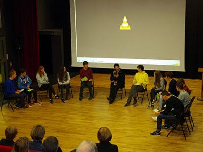 DST Kulturelles: Schüler/innen-Diskussion