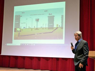 Vortrag von Fluchthelfer Hans Jörg Bühler