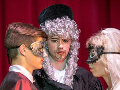 Theater-AG - Aufführung Leonce und Lena 2018