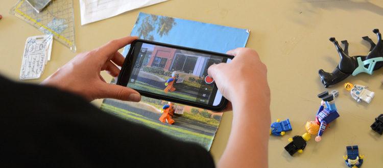 Deutsche Schule Toulouse, Stop-Motion-Film Legomännchen
