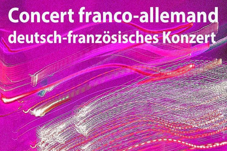 Deutsch-französisches Konzert