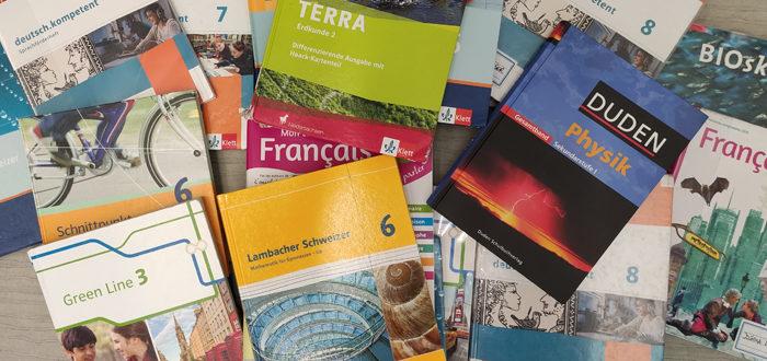 Deutsche Schule Toulouse, Schulbuchbestellung Schuljahr 2020-21
